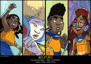 Tableaux-personnages